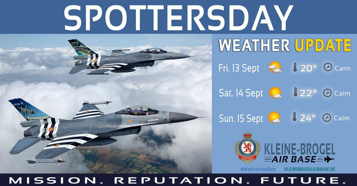 weather 13 15Sep 2019 spottersday2019